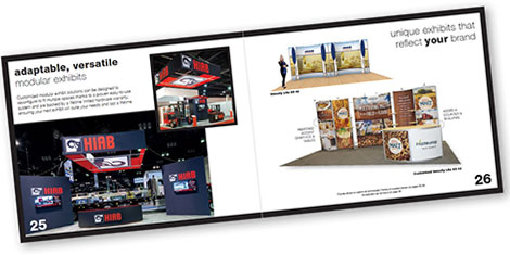 Nimlok showcases green, reconfigurable displays in new modular exhibits brochure