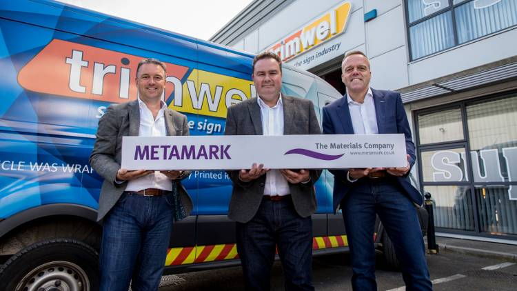 Metamark, Lancaster based self-adhesive graphics materials manufacturer and supplier acquires Irish distributor, Trimwel.