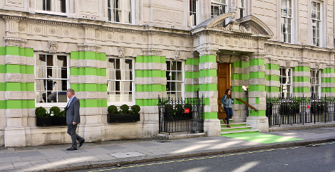 CMYUK's Asphalt Art and wide-format technology combine for Christie's makeover