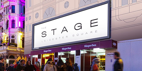 London The Stage Leicester Square