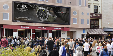 Oris London The Stage Leicester Square