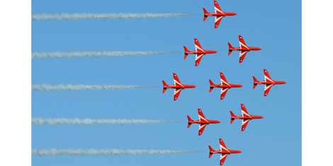 Epson Red Arrows