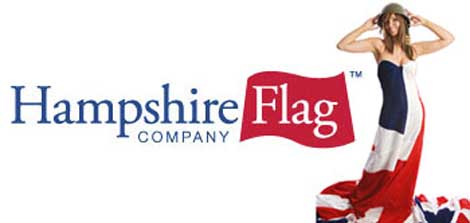 Hampshire Flag Sweetheart