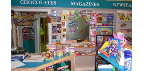Roland Coronation Street Sweet Shop Pic