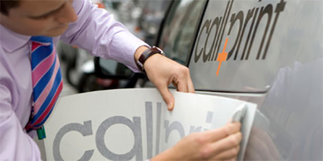 callprint vehicle