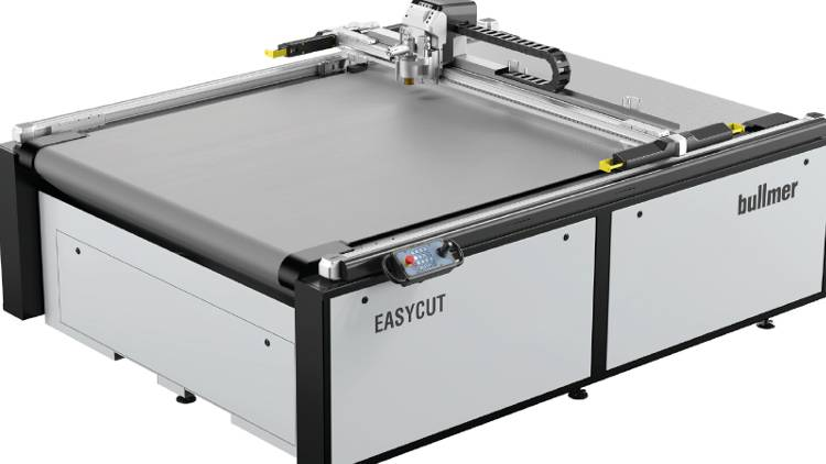 Bullmer to showcase Premiucut cutting machines with integrated feeding / scanning / roll handling solutions at FESPA Berlin.