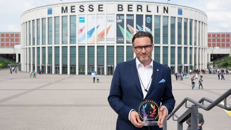 The EDP Awards were presented at FESPA in Berlin.