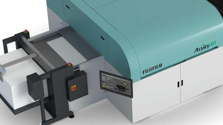 Fujifilm's Acuity B1 press