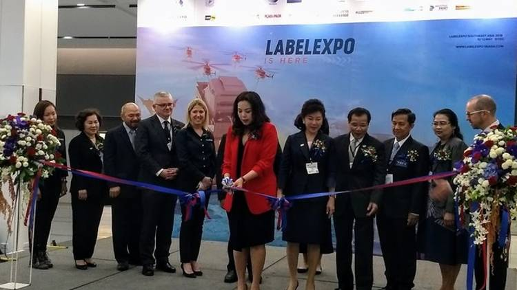 The launch edition of Labelexpo Southeast Asia – the biggest label and package printing event in the region.