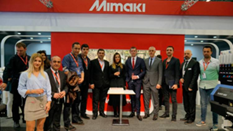 Mimaki Eurasia has announced that it has obtained successful results from Turkey and the region's largest and most important exhibition for textile technology ITM 2018.