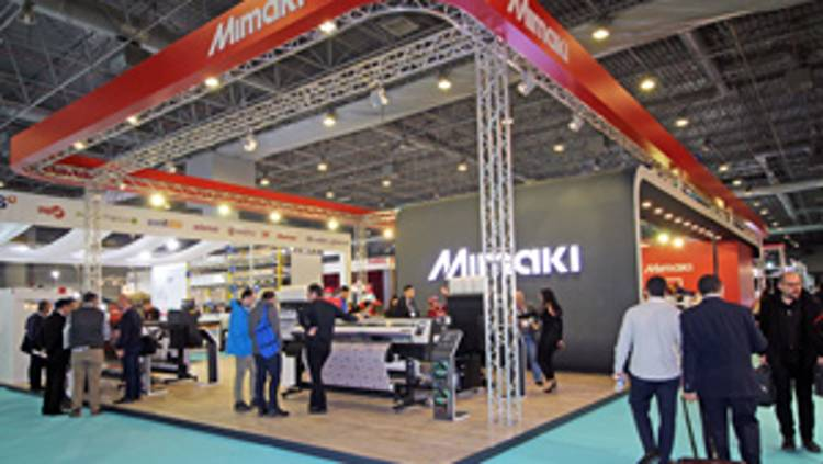 Mimaki has exhibited innovative solutions developed for the textile industry in digital printing, the rapidly growing segment of the fair.