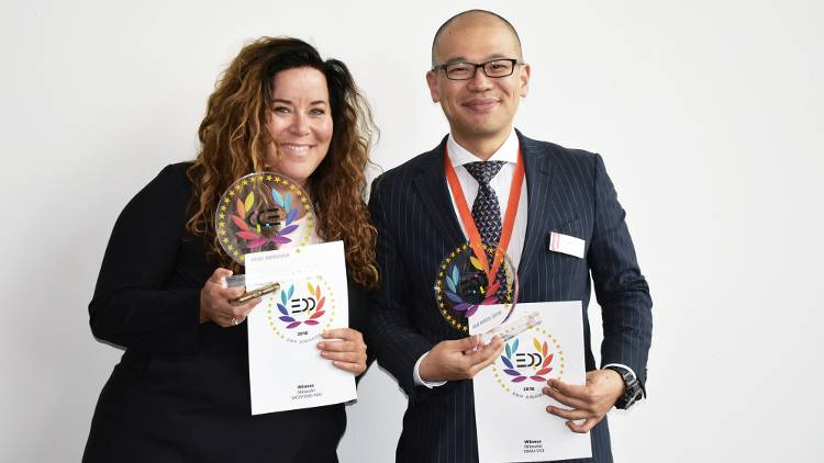 Mimaki recognised with two prestigious EDP Awards at FESPA 2018.