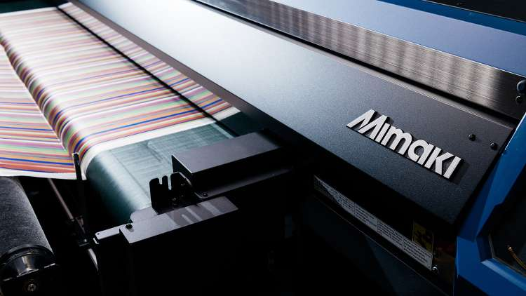 Visitors will find Mimaki to be the true Home of Digital Textile Printing.