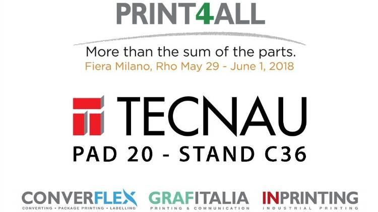 Tecnau is exhibiting a new cutsheet finishing solution at Print4All held from May 29th to June 1st at Fiera Milano Rho, near Milan.