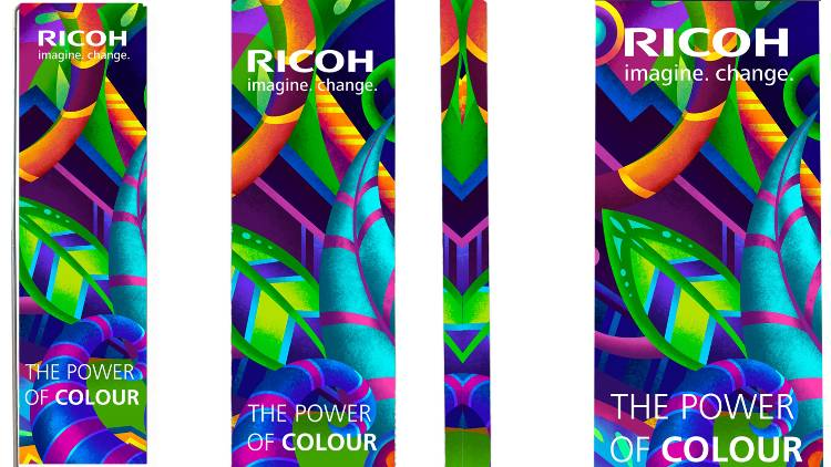 Ricoh demonstrates application versatility at FESPA.