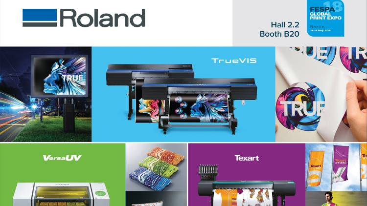 'What matters to you, inspires what we do'  reaffirms customer engagement on Roland DG Booth B20, Hall 2.2