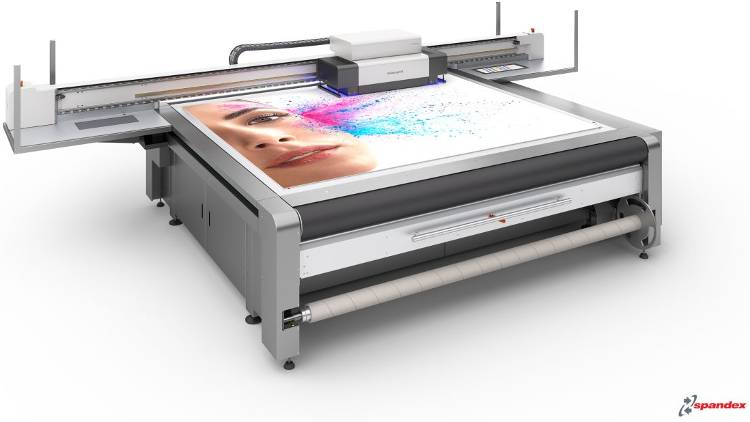 On stand E30, Spandex will showcase the swissQprint Impala LED UV flatbed printer and host the Sign and Digital UK show feature, the Wrap Revolution.