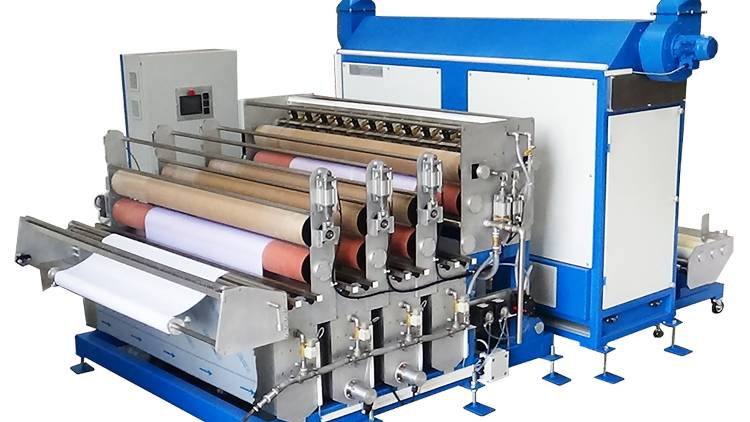 Mimaki now has all the necessary components in place, including pre-treatment of fabrics, digital printing, and steaming and washing post-print with the Rimslow Series.
