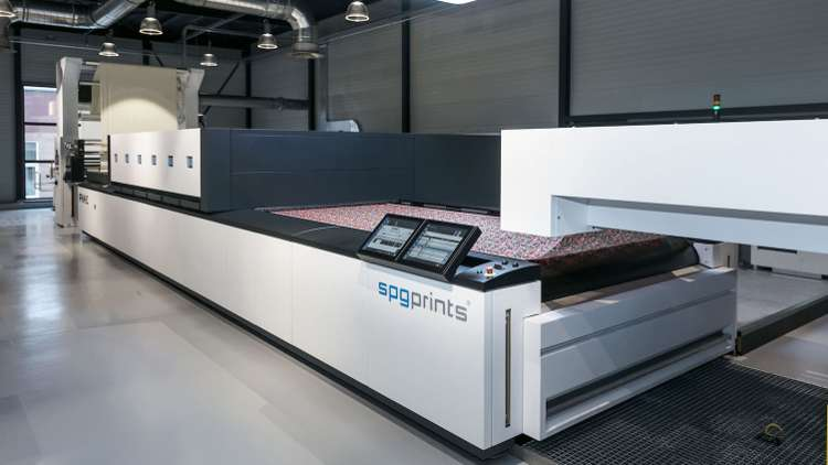 The PIKE printer at the SPGPrints Experience Center LR.