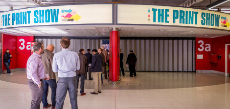 The Print Show entrance LFR