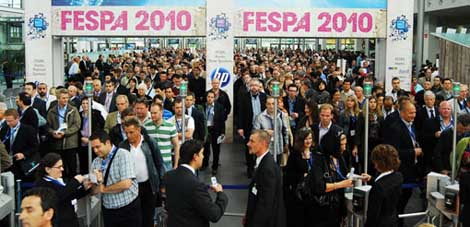 Fespa 2010 Visitors