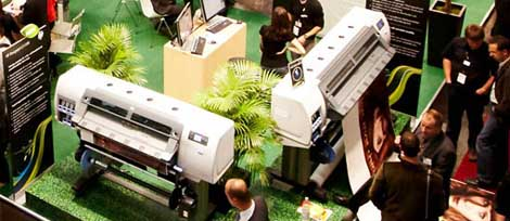 HP Designjet L25500 at Viscom