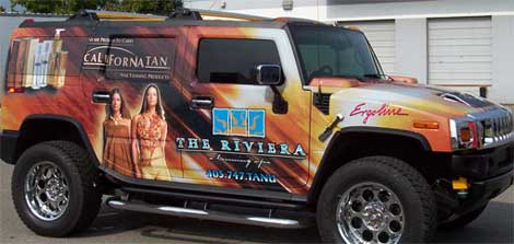 European Wrapstar Hummer Wrap