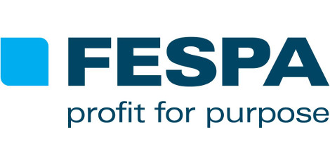 FESPA profit for purpose logo LFR