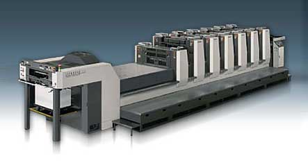 Surprise move by the Italian digital printing specialist sees it install a Komori LS 29 offset press
