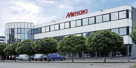 mimaki europe office