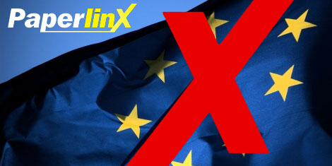 paperlinx europe trouble