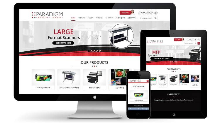 Paradigm Imaging Group announces the launch of a new website.