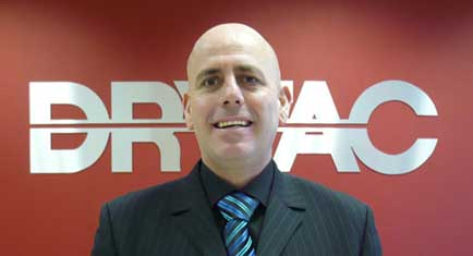Steve Broad at Drytac