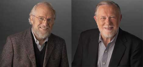 Dr. John Warnock and Dr. Charles (Chuck) Geschke