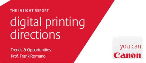 Canon Insight Report into the future of Digital Print - by Professor Frank Romano