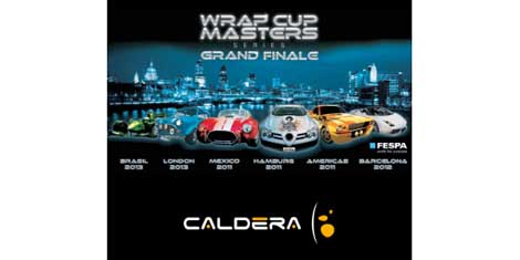 Caldera confirmed as a sponsor of FESPA Wrap Cup Masters Series