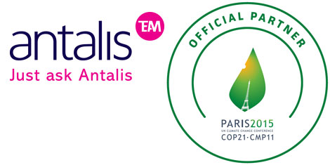 Antalis official partner of COP21 climate change conference
