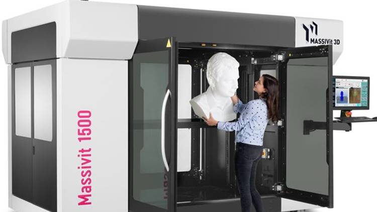 Massivit 1500 Printing Solution to increase accessibility into growing large format 3D printing market.