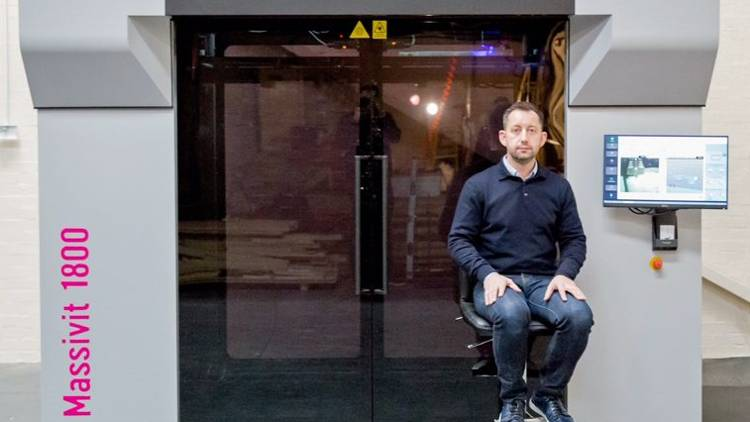 Andesign UK has installed a Massivit 1800 3D Printing Solution, in a bid to double its turnover to approximately £8 million in the next five years.