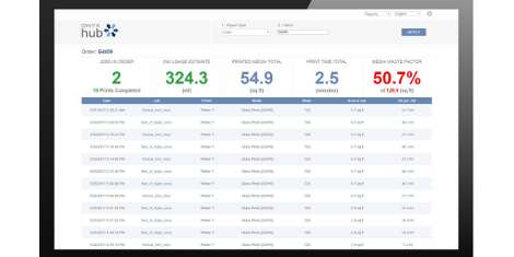 ONYX Hub software brings business intelligence to wide format