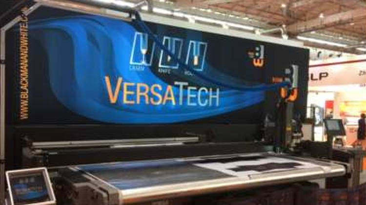 "MCT will also be demonstrating its VersaTech2 ""All-in-One"" Flatbed finishing solution running Fabric Laser Cutting Demos throughout the 2 days."