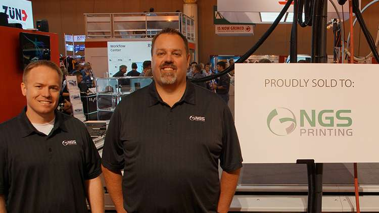 NGS Printing is excited to announce the purchase and installation of their second D3 L-3200 cutting system.