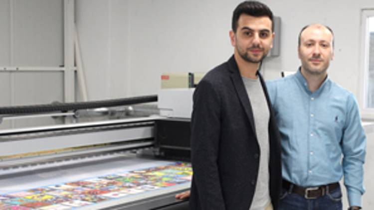 Boran Reklam, which continues its production in digital printing and advertising at its Kurtköy Istanbul facility, has expanded its market target to Europe by investing in Nyala LED.