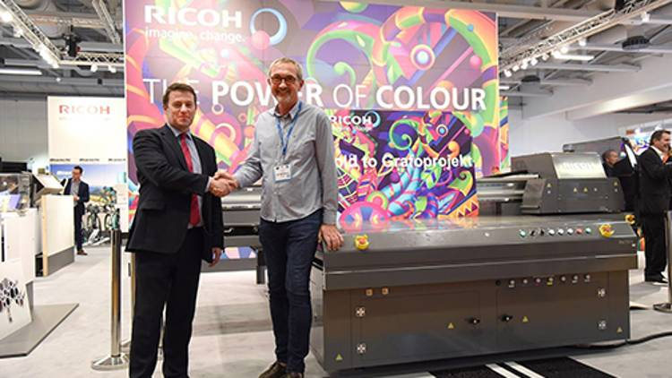 Grafoprojekt Expands Production Horizon with Europe's First Ricoh Pro T7210.