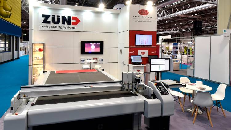 Zünd UK Ltd demonstrated a Zünd G3 at Packaging Innovations in Birmingham.