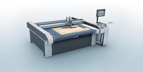 Zund S3 Digital Cutter LFR