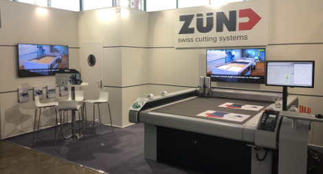 Zund stand Packaging Innovations 2017 LFR