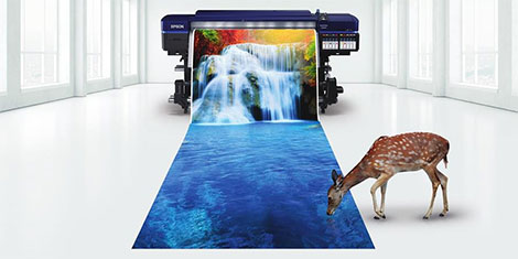 SureColor SC-S80600 and SC-F9200 feature for Epson at FESPA