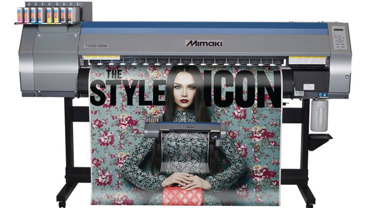 The Mimaki TS30-1300 dye sublimation printer will feature on Hybrid's stand at Make it British Live!.
