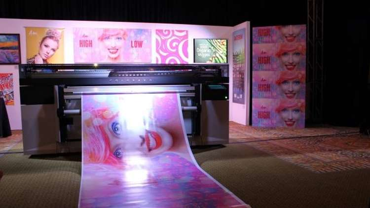 Océ Colorado 1640 printer from Canon Solutions America, stands as one the company's most ambitious installations to date.